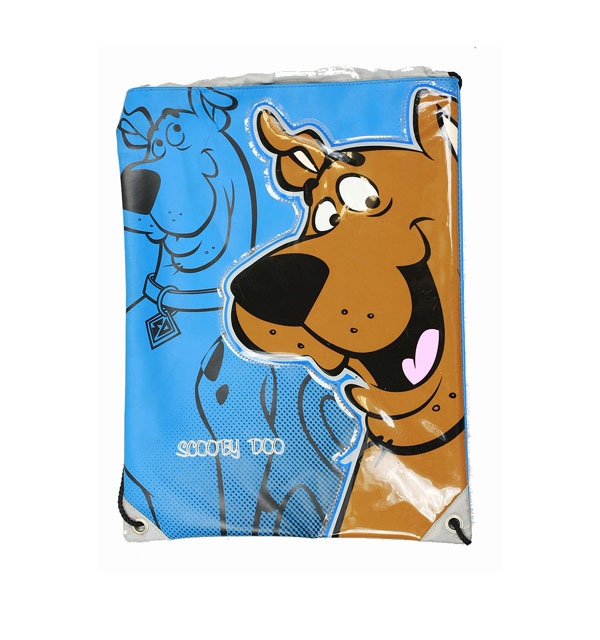 String Backpack - Scooby Doo - Brown Head - Cinch Bag New Boys 62cs03