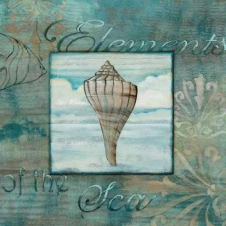 Elements of the Sea III Canvas Art - Charlene Audrey (24 x (Spa Elements)