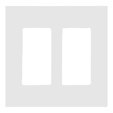 Morris Products 80906 Decorator Screwless Snap In Wallplates White