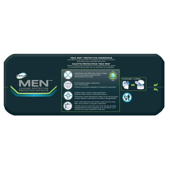 fe08b606a890 Tena Incontinence Underwear, Protective, Medium/Large, 16 Ct - Walmart.com