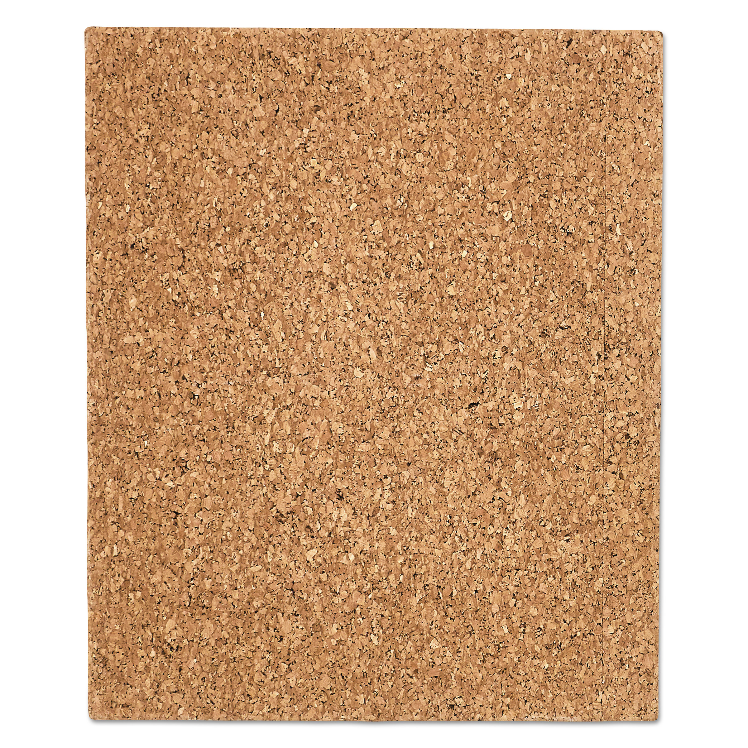 "Iceberg Designer Cork Bulletin Board, 20"" x 24"", Natural -ICE35014"