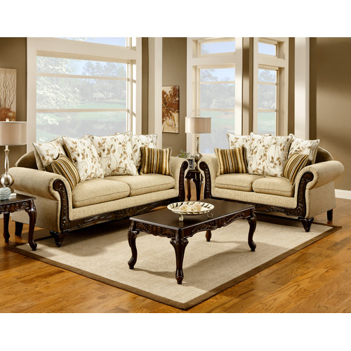 Hokku Designs Aveline Configurable Living Room Set by