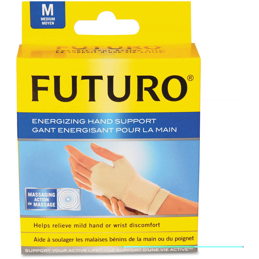 3M Futuro Energizing Support Glove, Medium, Tan
