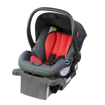Phil Alpha Infant Car Seat  Black Red