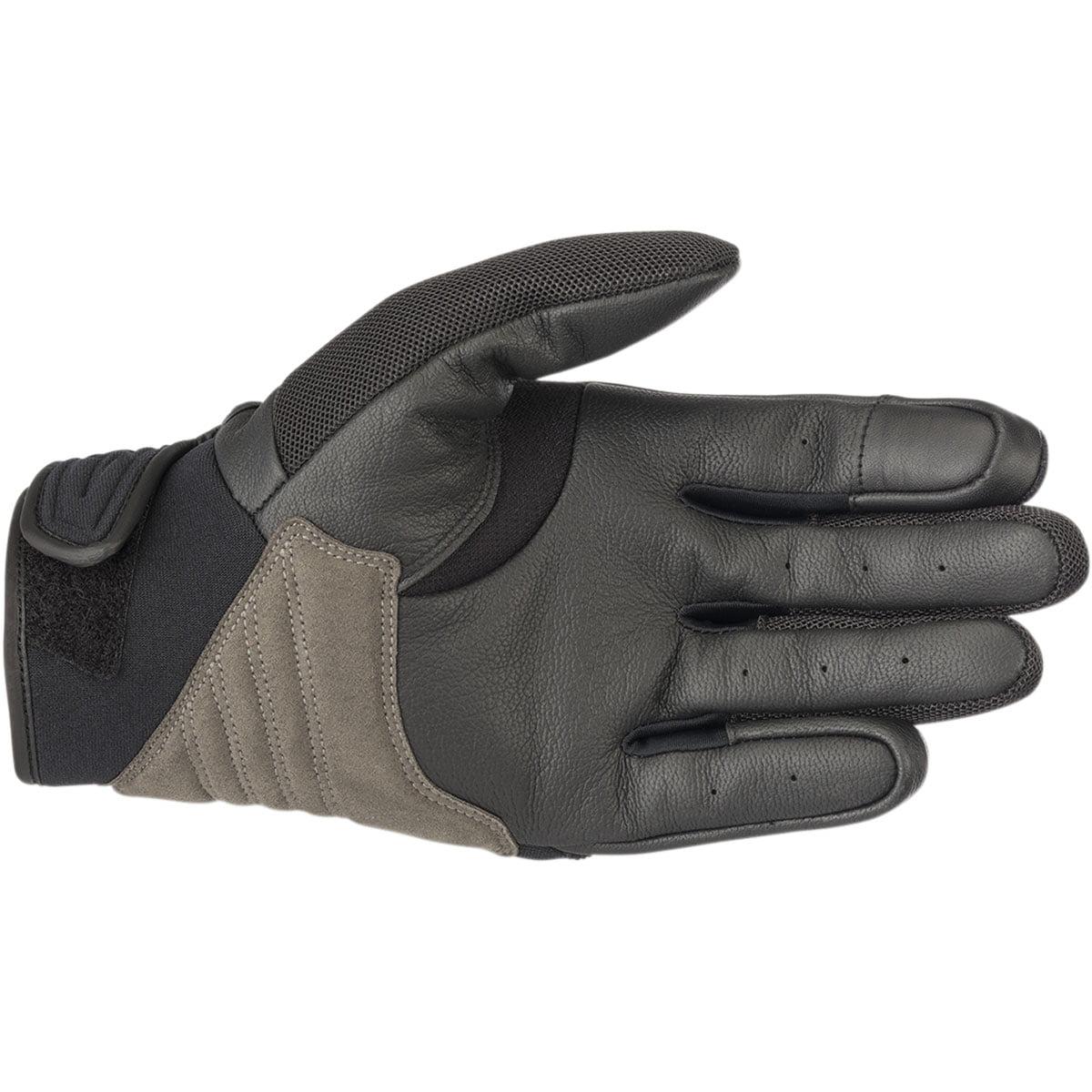 Black Alpinestars Mens Shore Motorcycle Glove X-Large