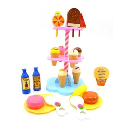 Sweet Treats Shop Ice Cream Candy Desserts Tower Playset Accessories Doll House Toy (Gift Idea) - Easy Halloween Desserts Ideas