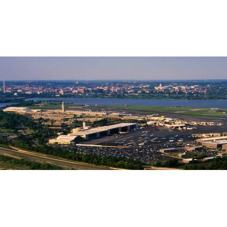 Ronald Reagan Washington National Airport, Washington DC, USA Print Wall - Reagan National Airport
