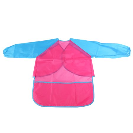 Children Kids Waterproof Long-sleeved Smock Apron for Painting - Painting Smock