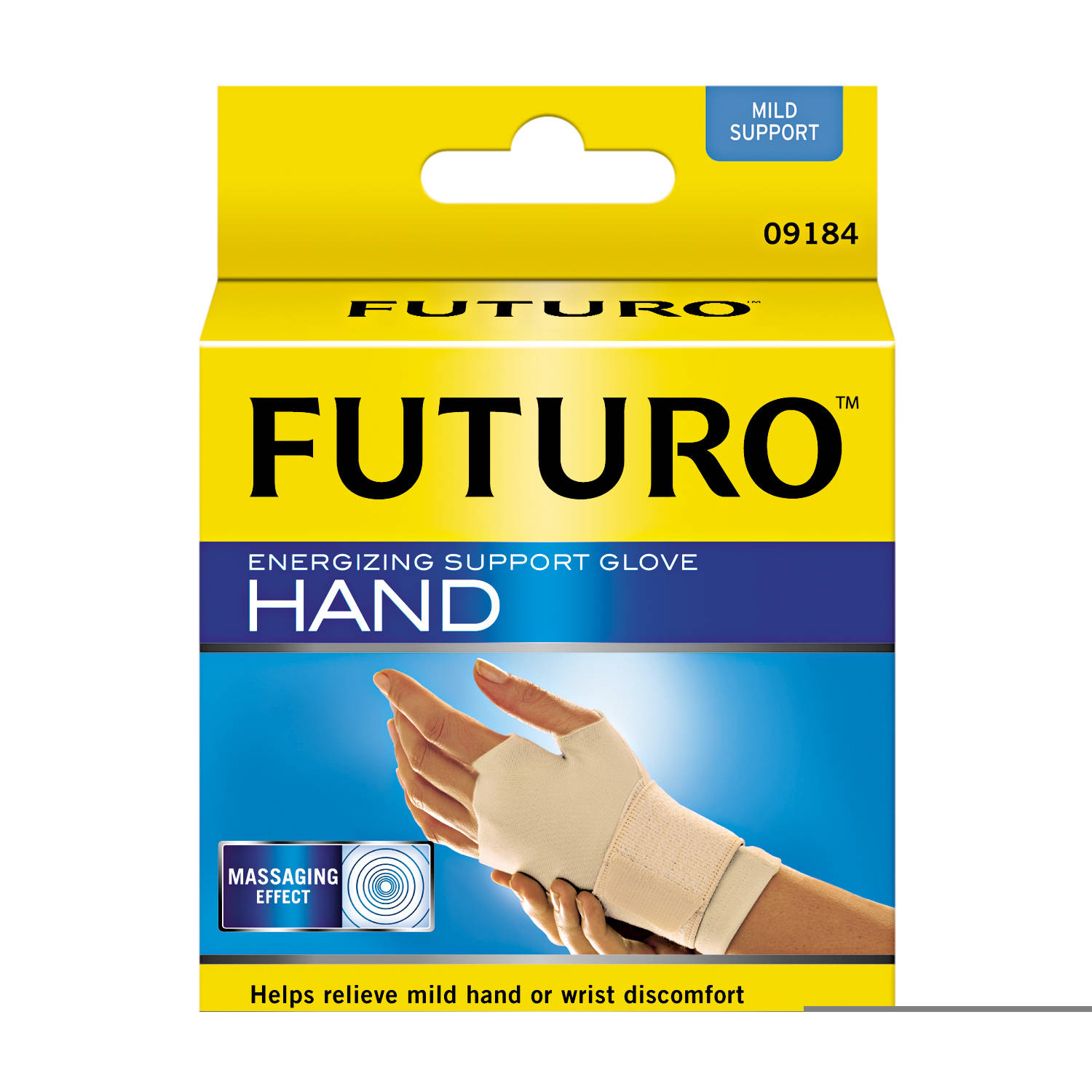 3M Futuro Energizing Support Glove, Small, Tan