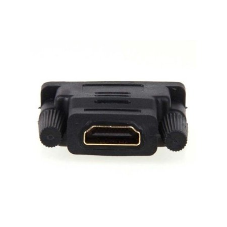 LIVEDITOR DVI-D Male to HDMI Female Gold Adapter Audio Video Coupler - image 4 of 5