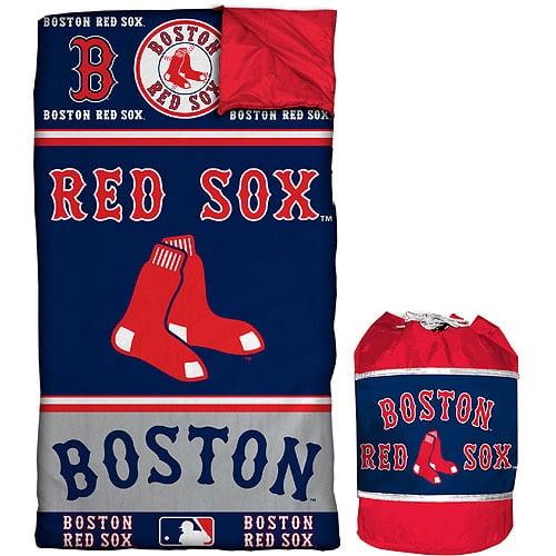 MLB Red Sox Sleeping Bag Duffle