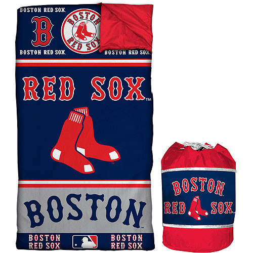 MLB Red Sox Sleeping Bag Duffle