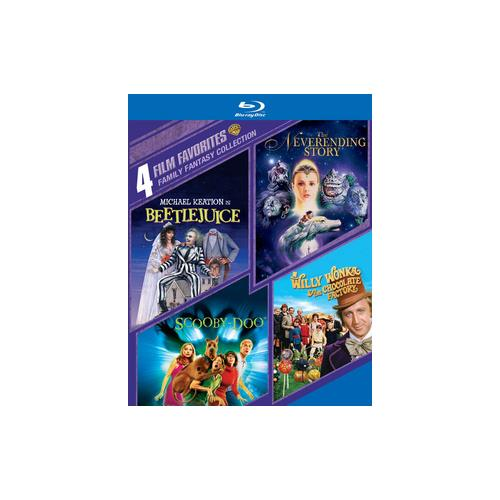 Family Fantasy Collection: 4 Film Favorites: Beetlejuice   The Neverending Story   Scooby-Doo   Willy Wonka... by WARNER HOME VIDEO