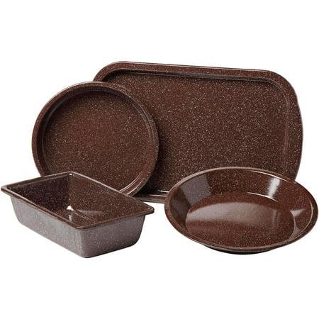 Granite Ware 4 Piece Better Browning Bakeware Set Brown