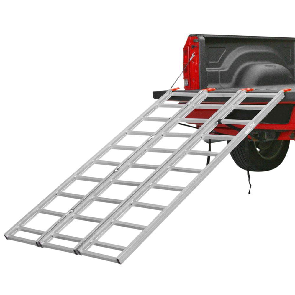 Full Width Aluminum 3-Fold ATV Truck Loading Ramp