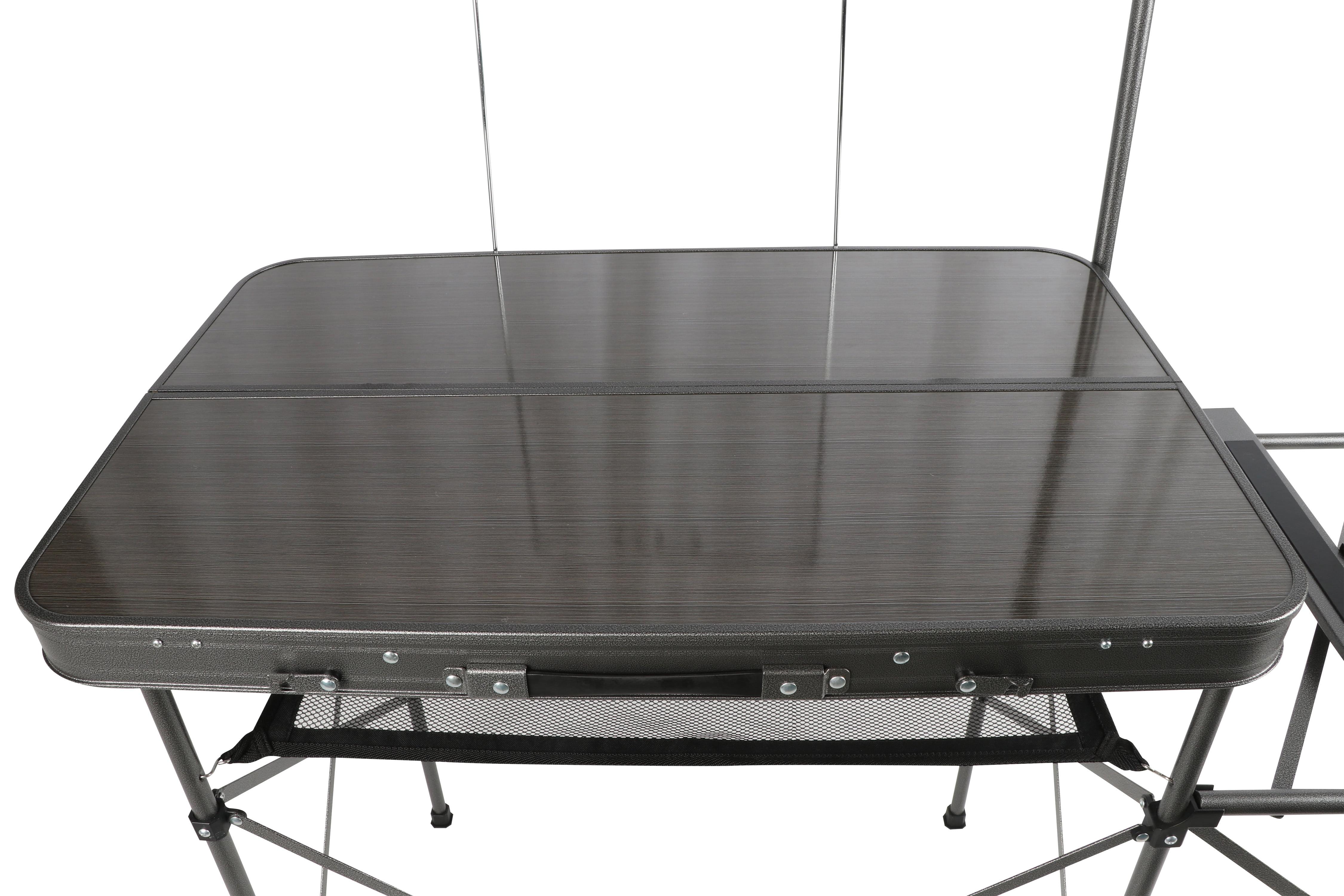 Ozark Trail Camping Table Silver 56 L X 21 W X 72 H Walmart Com Walmart Com