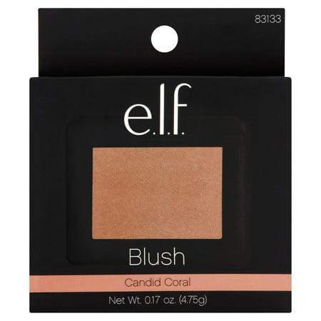 E L F  Cosmetics Blush  Candid Coral  0 17 Oz