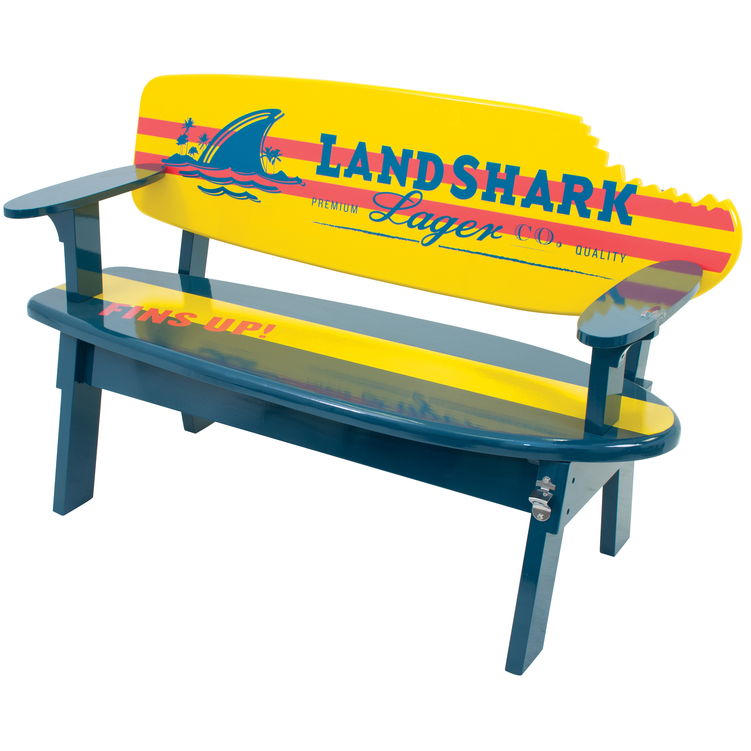 Land Shark Garden Bench