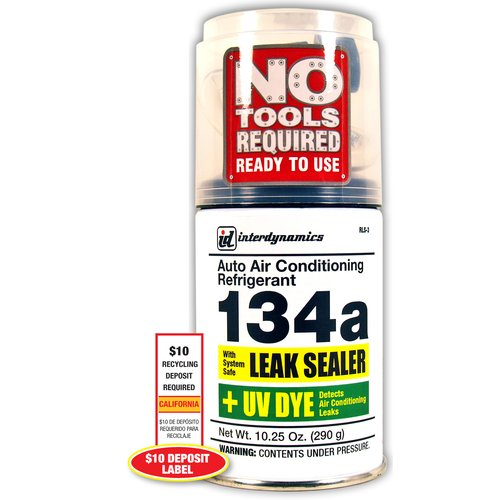 EZ Chill R-134a Leak Sealer and Hose
