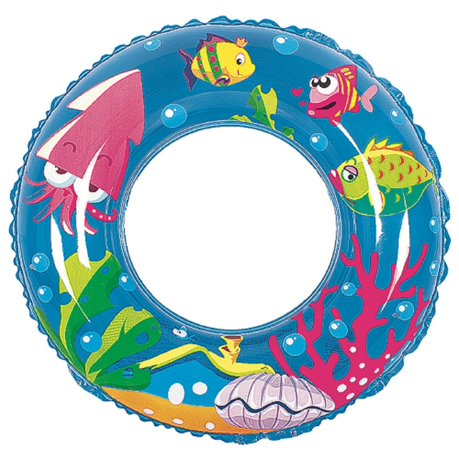 24 Quot Blue Sea Fish Children S Inflatable Swimming Pool
