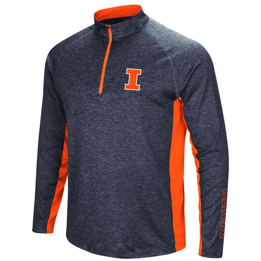 Illinois Fighting Illini Colosseum Upstart 1/4 Zip Windshirt