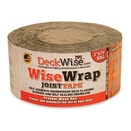WiseWrap Joist Tape - Protective Deck Joist Flashing Tape by Deckwise - 3