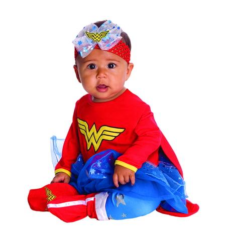 Homemade Infant Costumes (Rubies Wonder Woman Onesie Infant Halloween)