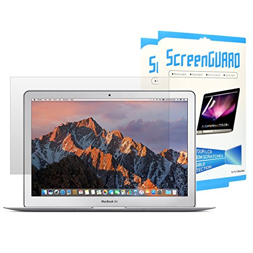 HD Ultra-Clear High Definition LCD Screen Guard Compatible with Apple MacBook Air 11 Model: A1370 and A1465 Glossy Clear TOP CASE