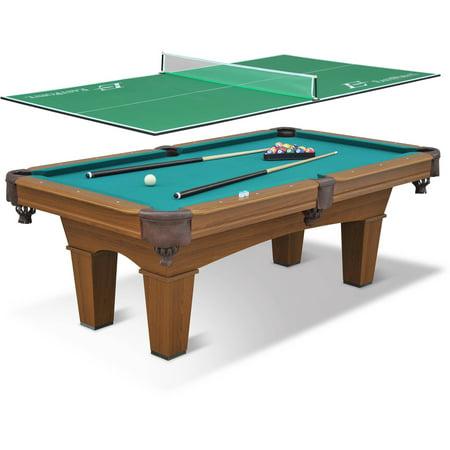 Eastpoint sports 87 sinclair billiard pool table with 3 piece table tennis top - Pool table table tennis ...