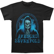 Avenged Sevenfold Men's  Praying Skeleton T-shirt Black