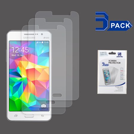For Samsung Galaxy Grand Prime Clear Screen Protector Film Guard Cover 3