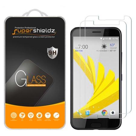 [2-Pack] Supershieldz for HTC 10 EVO Tempered Glass Screen Protector, Anti-Scratch, Anti-Fingerprint, Bubble Free