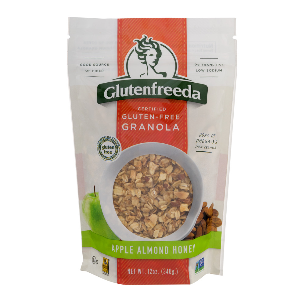 Glutenfreeda Gluten-Free Granola Apple Almond Honey, 12.0 OZ