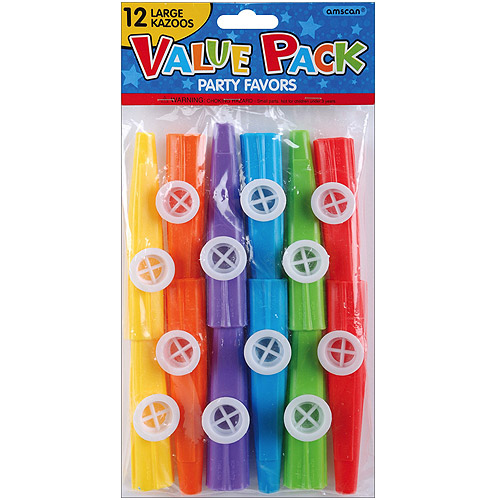 Party Favors, 12-Pack, Kazoos