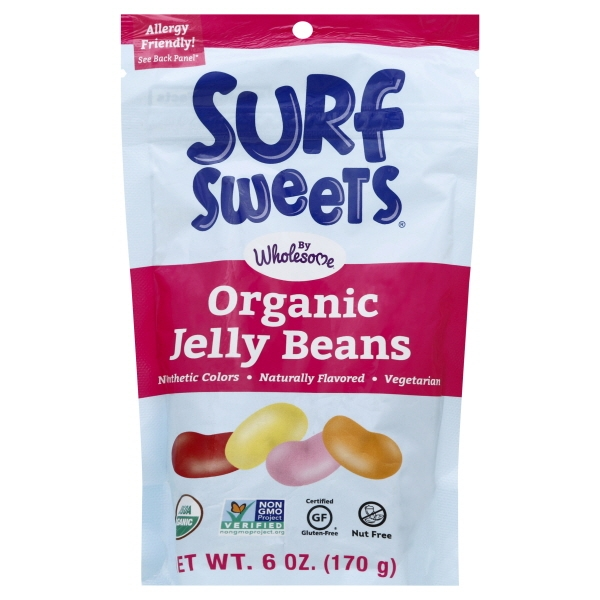 Wholesome Sweeteners Surf Sweets  Jelly Beans, 6 oz