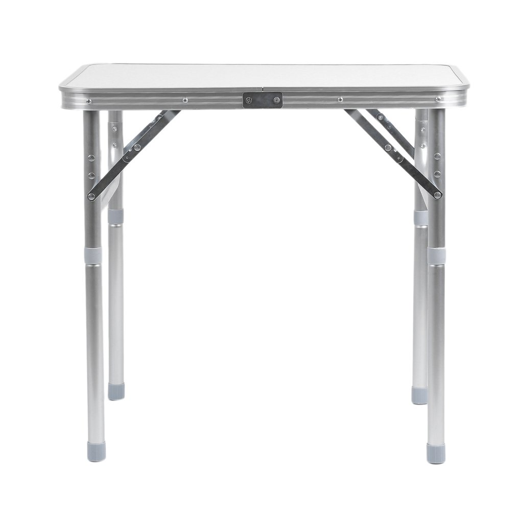 60*45CM Portable Small Size Folding Aluminum Height Adjustable Table Indoor  Outdoor Picnic Party Dining