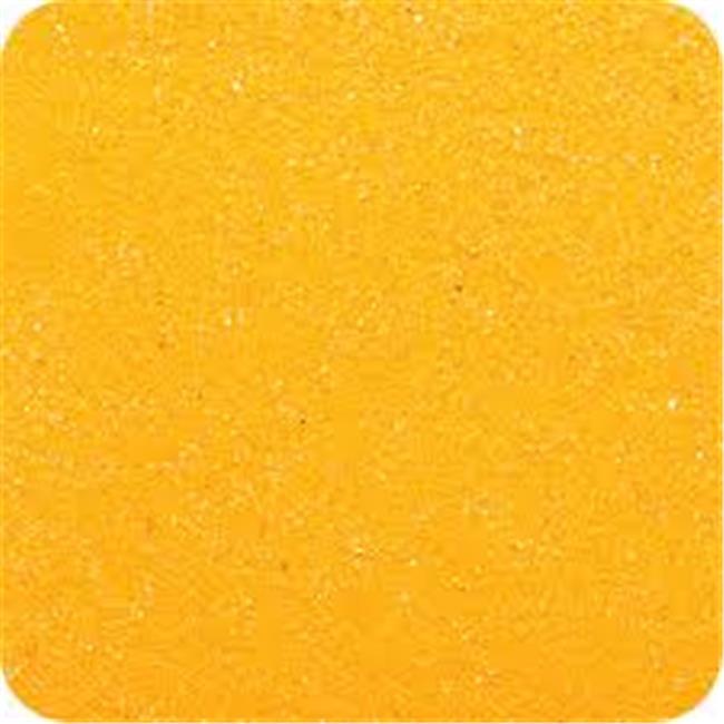 Sandtastik CS1408 Classic Colored Sand 14 oz. Bottle - Shake & Pour Lid - Fluorescent Orange