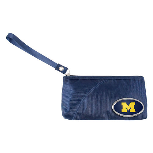 NCAA - Michigan Wolverines Grommet Wristlet