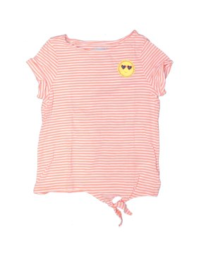 Pre-Owned Lands' End Girl's Size 7 Short Sleeve T-Shirt