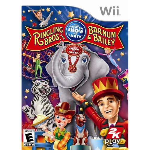 The Greatest Show On Earth (Wii) - Pre-Owned