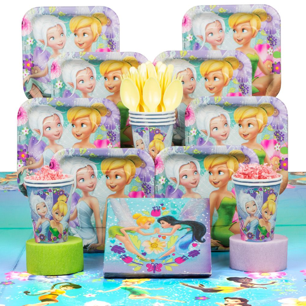 Tinkerbell Deluxe Kit (Serves 8) - Party Supplies