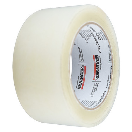 Carton Sealing Tape,Clear,48mmx50m,PK36 ZORO SELECT 31HJ46