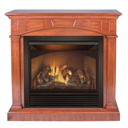 Duluth Forge Dual Fuel Ventless Gas Fireplace 32 000 Btu Remote