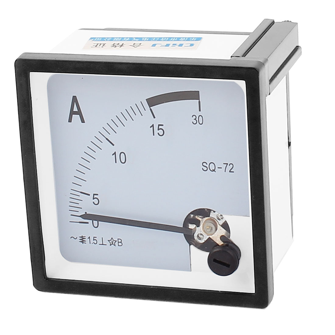 AC 0-30A Square Panel Mount Meter Gauge Current Analogue Analog Ammeter