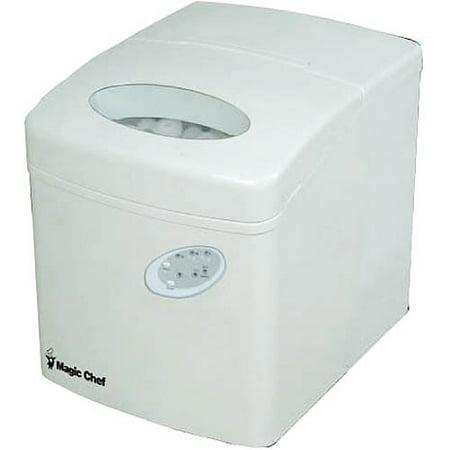 Magic Chef Portable Ice Maker, MCIM22TW