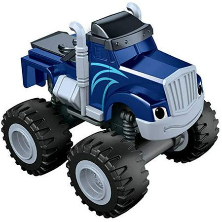 Fisher-Price Nickelodeon Blaze #CGC92 - REPLACEMENT Crusher Truck (Replacement Vehicle)