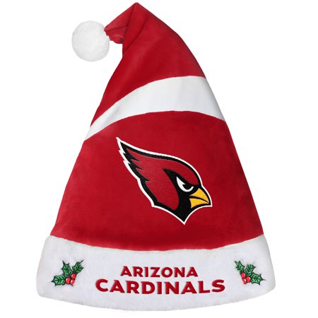 Arizona Cardinals Official NFL Holiday Christmas Santa Hat by Forever Collectibles 238829