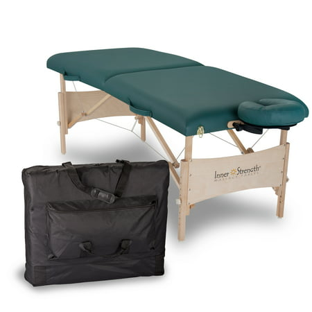 Inner Strength Element Massage Table, Teal Brewer Element Treatment Table