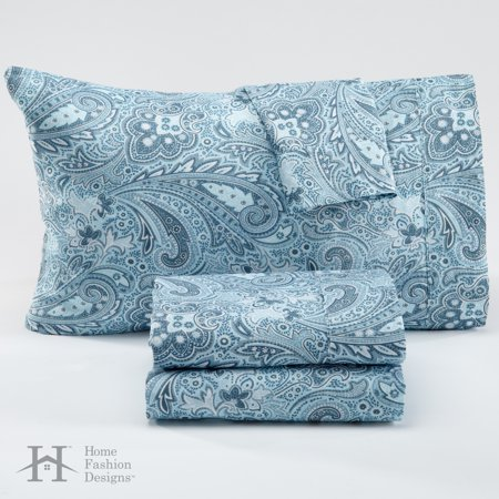 Sinclair Collection Cotton Rich Sheets By Home Fashion Designs Brand