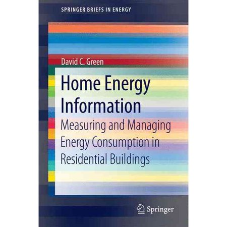 Home Energy Information  Measuring And Managing Energy Consumption In Residential Buildings